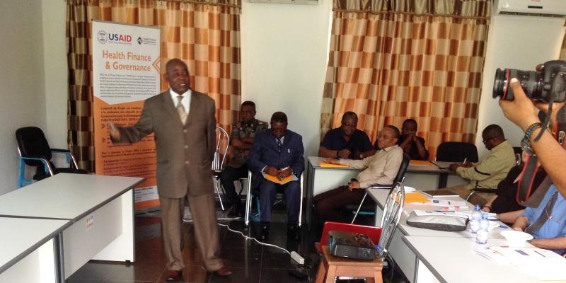 Atelier de restitution de l'Analyse Institutionnelle de l'Ecole de Santé Publique de Kinshasa