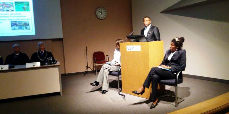 La défense de la thèse de doctorat de Dr Mafuta Eric de l'Ecole de Santé Publique de la  Faculté de Médecine